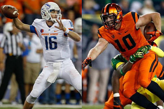 BSU VS Oregon State Beavers