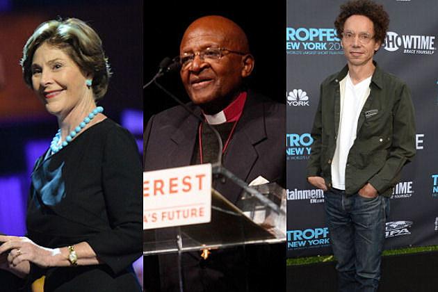 Laura Bush | Desmond Tutu | Malcolm Gladwell