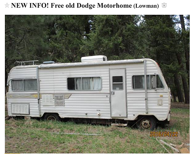 Yes, There's Another Free Mobile Home On Craigslist (PHOTOS)